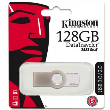 PEN DRIVE KINGSTON DATATRAVELER 101 G3 - 128GB